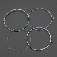Wholesale 4pcs Exquisite Violin String Steel Core Aluminum Alloy Material Violin Parts Accessories Retail