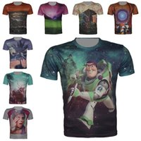 mens designer clothes - 2015 New Mens Summer Tops Tees Short Sleeve t shirt Man Plus Size XL Cartoon Printed t shirt Men Brand D Designer Clothing