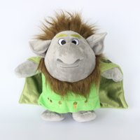 Wholesale 12 quot CM Frozen Trolls Plush Toys Stone Kristoff Friend Rock People Grand Pabbie Plush Toys Soft Stuffed Dolls Xmas gift Free DHL