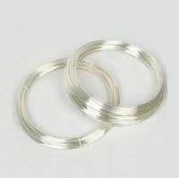 Wholesale Beadsnice gauge sterling silver wire half hard wire for jewelry design bulk wire ID