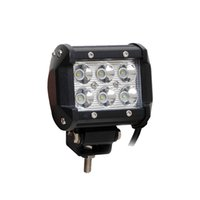 Wholesale 2pcs quot Inch W Cree LED Work Light Lamp for Motorcycle Tractor Boat Off Road WD x4 Truck SUV ATV Spot Flood v v
