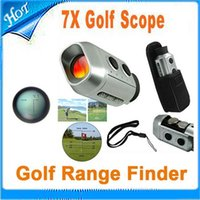 Wholesale Digital Pocket X Golf Rangefinder Range Finder Golf Scope With Bag DHL Drop shipping from urlover