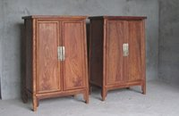 Wholesale Chinese Ming and Qing furniture mahogany corner cabinet noodle cabinet size head cabinet