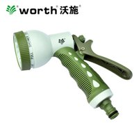 Wholesale Gardening tools Multifunction Water spray gun Irrigate land Sprinkle head ABS main body d2