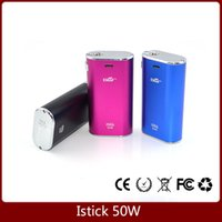 arctic charger - Istick W Eleaf Simple Pack Kit Thread Variable Wattage mah battery with wall charger fit subtank arctic tank VS istick w w