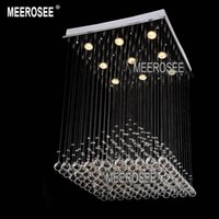 Cheap Square Crystal chandelier Light Best lighting fixture in stock