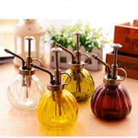 Wholesale 1pc Watering Equipments Home Garden Watering pot easy use water Cans hobby gift pumpkin glass watering pot