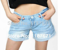 big cowgirl - Selling at cost NEW Fashion fat MM Big size loose show thin cowgirl shorts hot Women jeans shorts SIZE S XXL