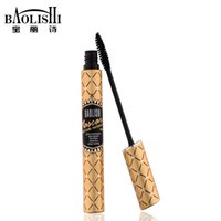 best mascaras - baolishi best volumizing mascara reviews fiber curling tube oil free black mascaras urban fashion brand makeup