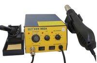 Cheap repairing Soldering solder smd rework Station   Desoldering station +heat gun   soldering iron for mobile phone ipad