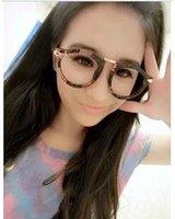 Wholesale 2015 New Jingjing retro pink tide great circle frame glasses frame glasses plain glasses for men and women