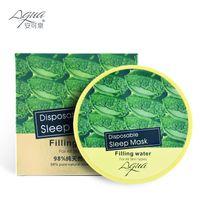 aloe night cream - Aloe Face Mask Green Cucumber Sleep Mask Skin Care Whitening Cream Skin Care Anti Aging Moisturizing Facial Mask