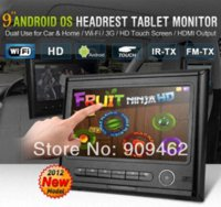 Wholesale HEPA inch Android Headrest Tablet PC Car Home Use with CPU G Wifi G HDMI FM M37852