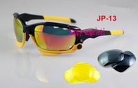 yellow frame sunglasses - NEW Brand JP black yellow frame men women Bicycle Cycling Eyewear Glasses Sport Sunglasses UV400 Lens Sporting Sun Glasses Goggles