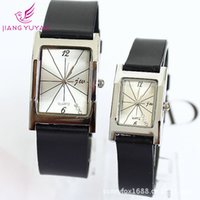 arts silicone watch - Foreign trade explosion of genuine JW brand watches fashionable men and women art simple lines all match Watch