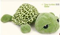 plush sea animals - large size cm Creative army green big sea turtle plush toys stuffed animals pillow cushion doll Christmas gift