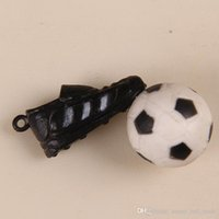 animations football - Supplying football cartoon PVC toys promotional gifts plastic dolls animation around playing