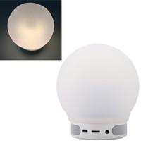 audio decor - 2016 Fashion Mini Wireless Bluetooth Speaker Lamp Magic Smart Bulb Colorful Light Music Audio Decor Night Lighting Speakers