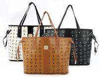 Cheap Totes MCM female bag handbag Best Women Stripes MCM female bag