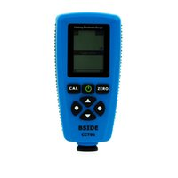 Wholesale BSIDE CCT01 Digital Portable Paint Coating Thickness Gauge Meter Width Measuring Instruments F N Probe Tester um mils