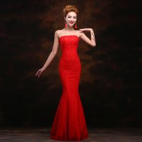 Wholesale 15 new women s fashion Korean Bra style wedding dress factory bridesmaid dresses dinner toast clothing female foreign trade