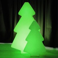 Wholesale Creative pieces waterproof outdoor remote control color changeable LED light tree of led floor lamp for Christmas decoration lighting