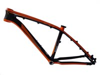 bicycle frame parts - DH MB02 NEASTY Brand full carbon fiber red green orange bright red color painted mountain bike frame bicycle frame parts