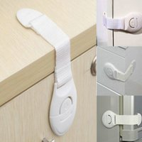 Wholesale 1Pc Cabinet Door Drawers Refrigerator Toilet Safety Plastic Lock For Child Kid baby safety Brand New