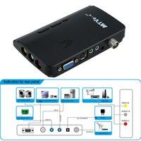lcd tv hdtv - Set Top Box Digital Portable HDTV HD LCD TV Box Analog TV Tuner Box CRT monitor Computer TV Program Receiver