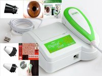 Wholesale 3 in Iriscope Skin Hair Diagnosis Analyzer with Lens X XP X English Iris Skin Hair Diagnosis Software CE FCC