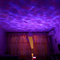 Wholesale 7 Colorful LED Light Lamp Ocean Wave Night Floor Lamps High Quality Bedroom Lamps x x mm