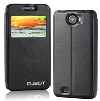 Cheap Original Cubot Leather Case,Window View Flip Leather Cover Case For Cubot GT99 P5,X6,GT72,S208