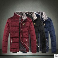 Wholesale South Korea Men S Fashion - Fall-Hot!!!The new 2015 black South Korea flocking cotton-padded clothes fashion men's clothing retail and wholesale