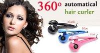 Wholesale 16pc Pro Perfect Curl titanium hair curler Automatic magic hair roller curling hair curler Salon Hair Iron Machine Z612
