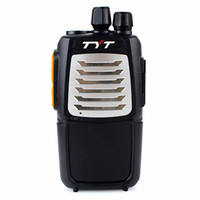 Wholesale New Black Portable Radio Walkie Talkie TYT A8 UHF MHz W CH Two Way Radio Handheld hf transceiver Interphone A1052A