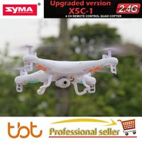 Wholesale RC Helicopter Original SYMA X5C X5C Explorers G CH Axis RC Helicopter Quadcopter RC Drone GB TF Card With MP HD Camera