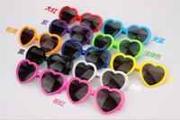 beautiful color sunglasses - Hot Sales Color Beach Sunglasses Heart Shaped Sunglasses Beautiful Beach Sunglasses Womens Sun Glasses Mens Sunglasses Heart Glasses