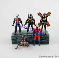 Wholesale Hot Sale New CM Ant Man Action Figures Toy PVC Minifigure Doll New Marvel Movie