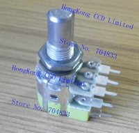 Wholesale 8 pin rotary switches audio amplifier potentiometer B50K B503 current volume control instrumentation equipment accessories