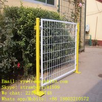 Wholesale Vinyl Coated Wire Mesh Fencing With Bright Color