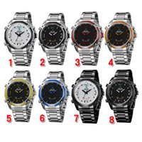 high end watches - 2015 WEIDE Watch High end Men s Watch Military Watch Sports Quartz Wristwatches color Watch month Guarantee WH DHL Free Churchill