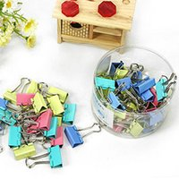 affordable office supplies - Free ship box pc Color Binder Clip mm file clip office supplies essential note folder affordable pack