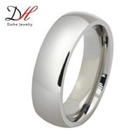 stainless steel rings - Fashion Full Sizes Silver O Jewelry Titanium Rings Men Wedding Rings Silver Big Party Finger Stainless Steel Jewelry Hot Selling