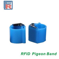 band pigeon - 2016 High quality KHz RFID Pigeon Bands with TK4100 chip waterproof animal foot ring tag read only