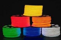 Wholesale Cheap LED decoration lihgting50m led M LED Neon Flex Red color soft neon light V V waterproof