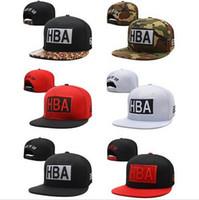 ball hoods - 2015 HBA snapback hats caps black HBA HOOD BY AIR snapbacks cap for men cheap brand designer cusual baseball hat mix order