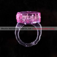 action sex - Male Sex Products Crystal Locking Delay Action Vibration Cock Ring Thin Vibrating High Strength Penis Ring RF001
