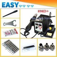 Wholesale CE Quality v w YIHUA YH898D Hot Air Gun Digital Soldering Iron Function IN Hot Air Desoldering Station