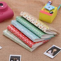 Wholesale 84 Pockets Camera Photo Album Holder Vintage Book Style Album for Mini Fuji Instax Name Card s s LG PD233 PD221 PD239 D2740