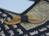 best beard styles - Bow Ties Wooden Hand Made Big Beard Party Dinner The Wedding Neutral Novelty Leisure New Style Luxury The Best Gift Fashion Accessories